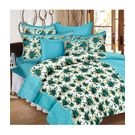 Ahmedabad Cotton Basics Cotton Double Bedsheet With 2 Pillow Covers (ACB20D00087)