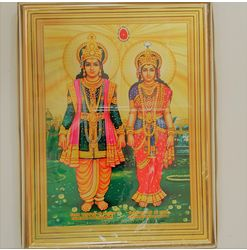 761 - Photo Frame - Lakshmi Narayan - Medium