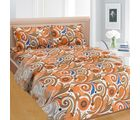 Cortina Cortina Double Bedsheet With Tow Pillow Cover-046-A (PDB-047-A), brown
