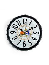 Cortina Morning Tea Design Wall Clock, multicolor