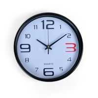 Cortina Round Analog Wall Clock-025,  white