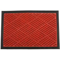 Swhf Premium Pp And Rubber Door And Floor Mat Virgin Rubber And Extremely Durable - Red Diamond