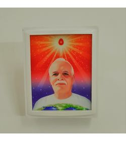 712 - LED - Square - Light - Brahma Baba