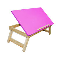 Ginnie & Ginnie Laptop Table Coloured-Pink