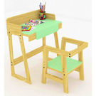 Ginnie & Ginnie Kinderjoy Study Table & Chair-Green