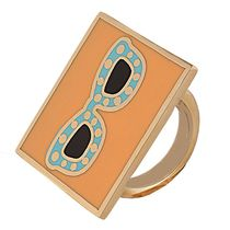 Shaze Gold-Plated Cool Shades Ring