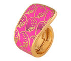 Shaze Gold-Plated Strawberry Ring