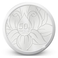 Amrapali Blossom Silver Coin, 50 gm