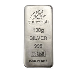 Amrapali Silver Bar, 100 gm