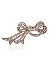 Shaze Knotted Bow Brooch