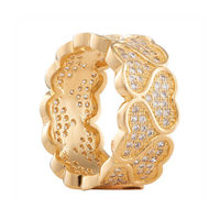 Shaze Cuore Ring Golden