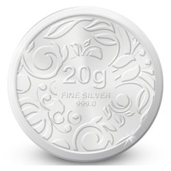 Amrapali Floret Silver Coin, 20 gm