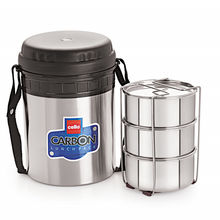 Cello Carbon Insulated Lunch Carrier (3 Container)