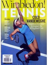 Tennis USA, single issue, english