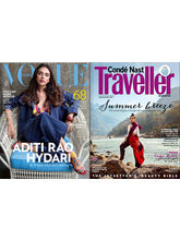 Vogue+ Conde Nast Traveller, 1 year, english