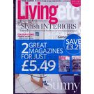 Ideal Home Living Etc Pack, 1 year, english