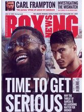 Boxing News Magazine, 1 year, english