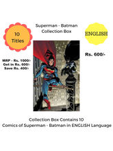 Superman-Batman Collection Box (English)