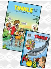 Tinkle Combo, (2 Year, English)