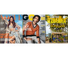 Vogue+ GQ+ Conde Nast Traveller(English 1 Year)(Subscribe & GeL'Oreal Paris Masque Oleo Curl Intense Rs.2900 Free)