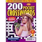 200 Pocket Crosswords, english, single issue