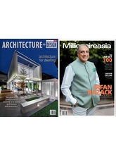 (Architecture+ Design) + (Millionaire Asia India), (English, 1 Year)