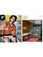 GQ+ Architectural Digest (1 Year,English)