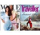 Vogue+ Conde Nast Traveller (English 1 Year)