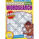 Puzz Mammoth Fam Wordsearch, 1 year, english