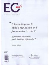 Estates Gazette Magazine, english, single issue
