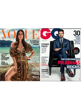 Vogue+ GQ, 1 year, english