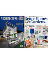 (Architecture+ Design) + (Better Homes & Gardens) English 1 year