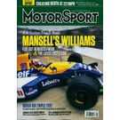 Motor Sport, single issue, english