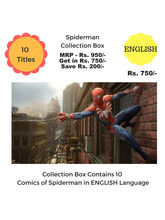 Spiderman Collection Box (English)