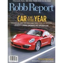 Robb Report US, single issue, english