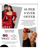 Vogue+ GQ (English 1 Year) (Print+Digital)