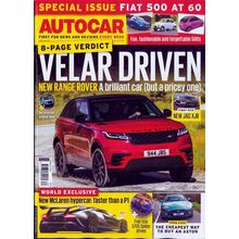 Autocar, single issue, english
