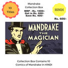 Mandrake New Collection Box, hindi, 1 year
