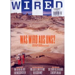 Wired German, english, single issue