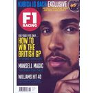 F1 Racing, single issue, english