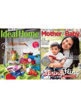 Mother & Baby + Ideal Home & Garden (English, 1 Year)
