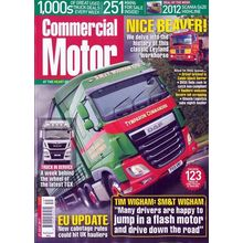 Commercial Motor, single issue, english