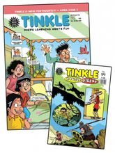 Tinkle Combo, (1 Year English) (Subscribe & Get 24+12 Issues + FREE pack of 20 Tinkle Digest)