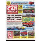Classic Car Weekly, single issue, english