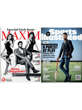 Maxim India+ Sports Illustrated India (English), 1 year