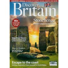 Discover Britain, single issue, english