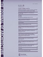 Journal Of Architecture, english, single issue