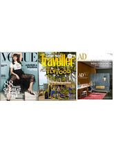 Vogue+ Conde Nast Traveller+ Architectural Digest (1 year, English)