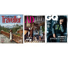 Conde Nast Traveller+ Architectural Digest+ GQ (English 1 Year)