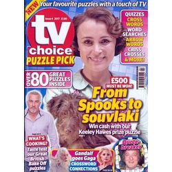 Tv Choice Puzzle Pick, english, single issue